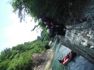 水上ジャンプスポット