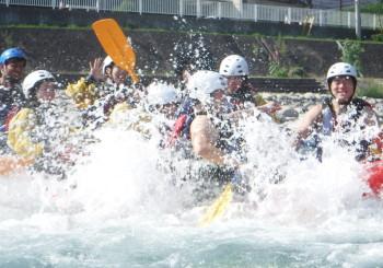 Sliding by Boat!!!!!