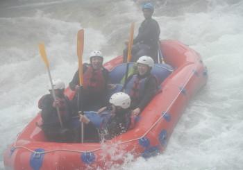 Rafting inside cloud!!!!!