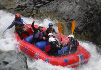 Family, Rafting and Rain!!!