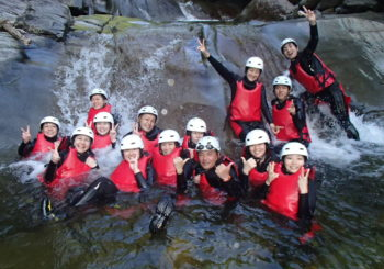 Group of Canyoning!!!