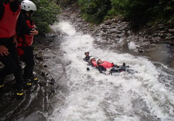 High Flow Canyoning!!!