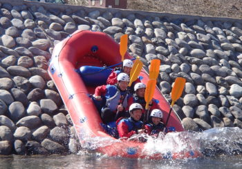 """enjoy the rafting"""