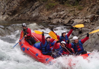 challenging rafting!