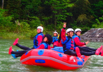 Tonegawa and Rafting!!