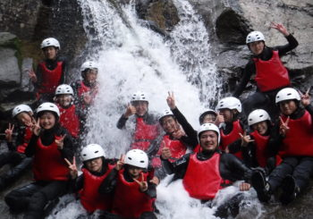 Students Canyoning