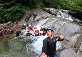 Fantastic day of Canyoning