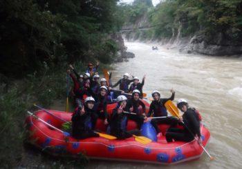 群馬県北部の大雨洪水警報の翌日